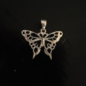 Jewelry - 925 Sterling silver butterfly charm
